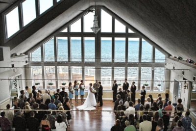 Wedding venue waterfront MD