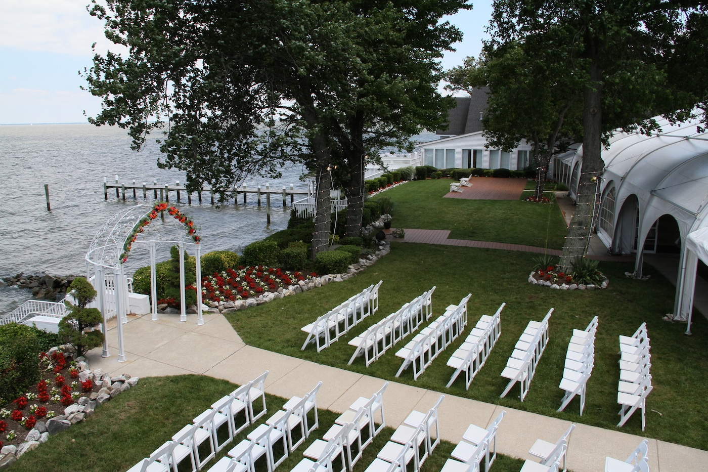 wedding venue site tour