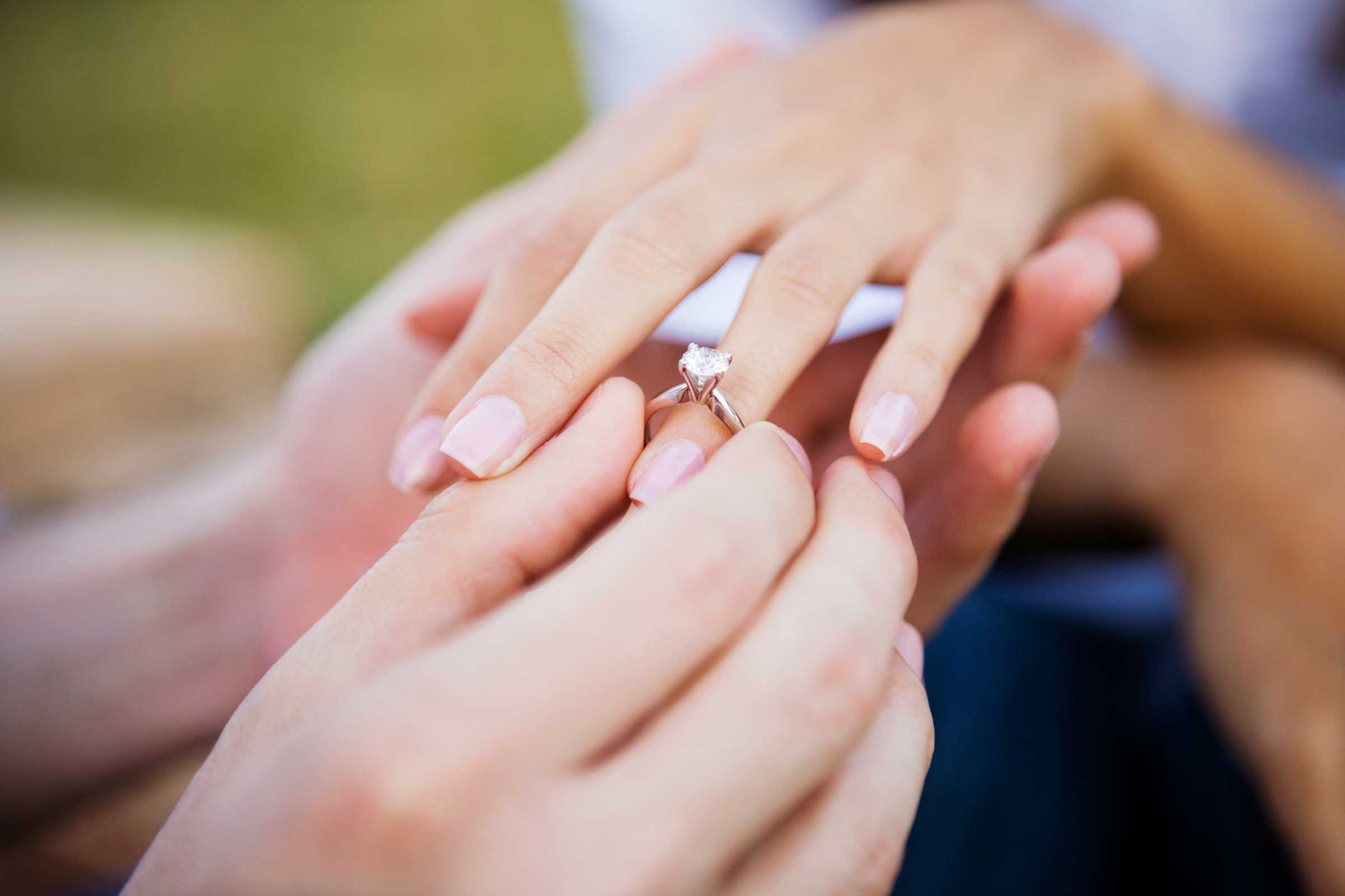 What kind of engagement ring? - Celebrations at the Bay